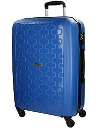 Movom Zig - Zag Maleta, 65 cm, 67 Litros, Azul
