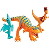 Dinosaur Train Collectible 3-Pack Dolores, Mr. Conductor and Shiny