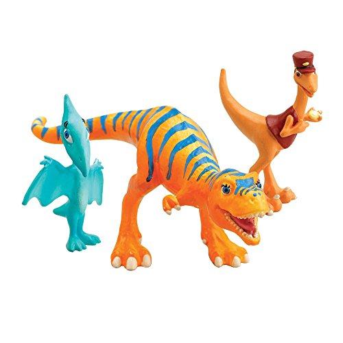 Tomy Dino Train - LC53052MP - Figurine - Pack 3 Personnages - Dolores, Le Contrôleur, Lili