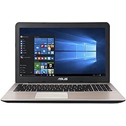 Asus A555LA-XX2384T 15.6-inch Laptop (Core i3-5005U/4GB/1TB/Windows 10/Intel HD Graphics),Dark Brown-Plastic