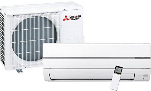 Mitsubishi Electric MSZ-WN25VA Kit Climatizzatore Inverter Monosplit Pompa di Calore Composta da una Unità Interna e una Unità Esterna, Bianco, Potenza 2,5kW