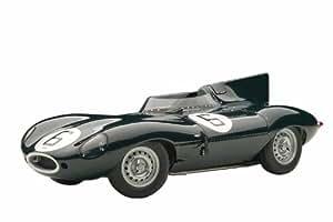 Autoart - 85586 - Véhicule Miniature - Modèle À L'échelle - Jaguar D Type - Winner Le Mans 1955 - Echelle 1/18