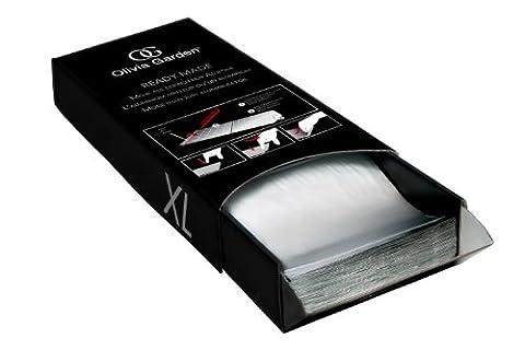 Olivia Garden Ready Made Alufolie für Friseure, 300 Blatt, 12