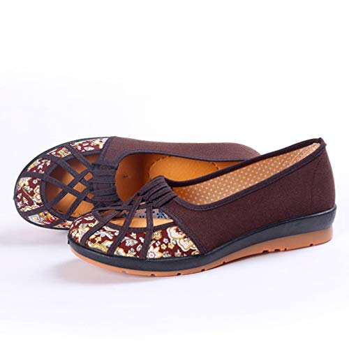 Frauen Segeltuch Schuh bequemer Beleg auf dem Fahren der gehenden Müßiggänger weichen unteren beiläufigen niedrigen oberen flachen Pumpen -
