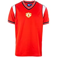 adidas Originals Mens Manchester United 85 Home Jersey In Red