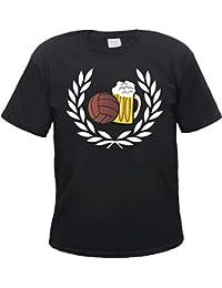 HB_Druck Corona de Laurel Fútbol Cerveza Camiseta T-Shirt