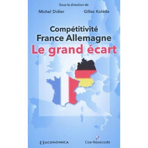 Compétitivité France Allemagne : Le grand écart