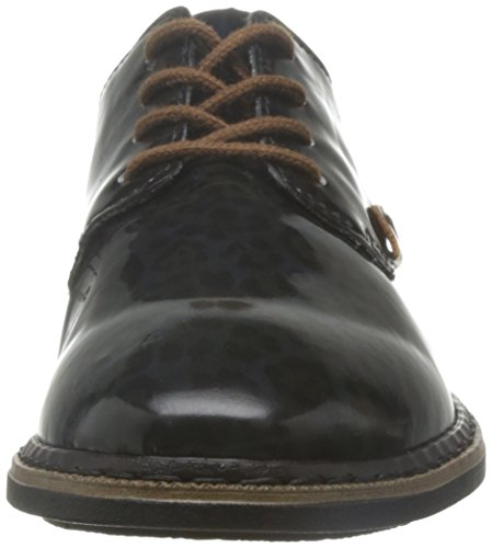 Rieker Ladies Lace-up Nero Nero (nero Combi 90)