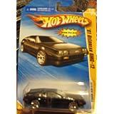 Hot Wheels 2010 New Models '81 DeLorean DMC-12 BLACK #015