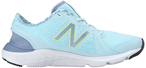 New Balance Women's W690V4 Running Shoe, Blue/Green, 10 D US Blu (Blu (Light Blue))