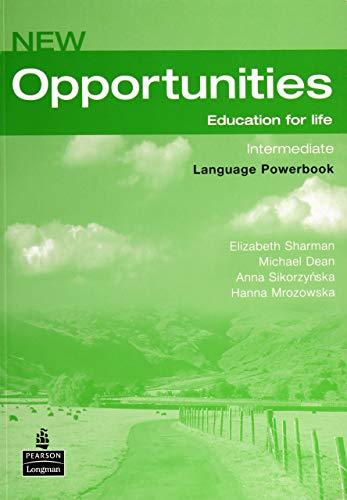 New Opportunities. Intermediate. Language Powerbook: Global Intermediate Language Powerbook NE