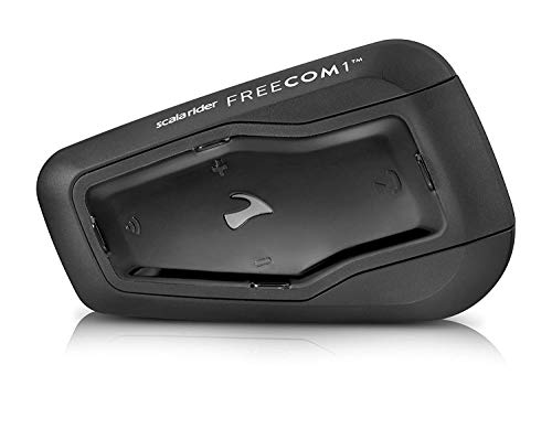 "Cardo FRC10003 Scala FREECOM 1-Bluetooth 4.1 sistema de comunicación para motocicleta con audio HD para Solo Riders ""descontinuado por el fabricante"""