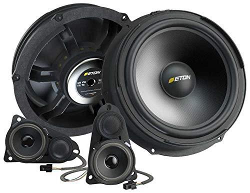 Eton Lautsprecher-Upgrade kompatibel mit VW T5, 3-Wege Lautsprechersystem Eton UGVWT5-F3.1