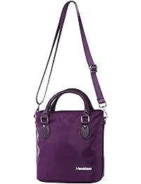 7176c7c48aaf0 Katloo Elegant Nylon Damen Handtasche Umhängetasche Henkeltaschen Shopper  Mädchen Kleine Reisetasche…