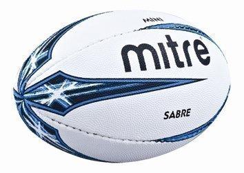 Neu Mitre B4107 Sabre Übung Official Mini Größe Miniatur Training Rugby Ball