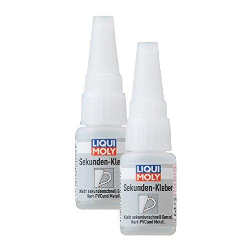 Liqui Moly 2X 3805 Sekunden-Kleber Super Glue Instant 10g