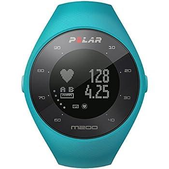 Polar, Orologio Sportivo M200, codice Articolo: 133997, Colore: Blu, Taglia: M