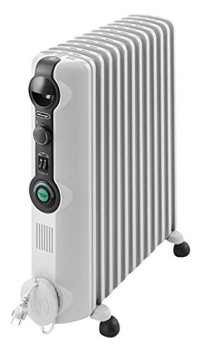 De'Longhi TRRS 1225C Radia S - Radiador, Termostato Ambiente Ajustable, Comfort-Temp, 12 Elementos...