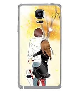 Fuson Designer Back Case Cover for Samsung Galaxy Note 4 :: Samsung Galaxy Note 4 N910G :: Samsung Galaxy Note 4 N910F N910K/N910L/N910S N910C N910Fd N910Fq N910H N910G N910U N910W8 (parade look up rather then down)