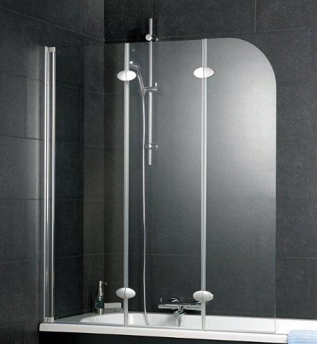 preisvergleich schulte badewannenaufsatz 3 teilig d3354 echtglas willbilliger. Black Bedroom Furniture Sets. Home Design Ideas