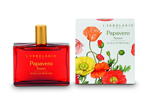 L'Erbolario Papavero Soave Eau de Parfum, 1er Pack (1 x 50 ml)