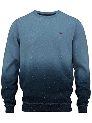 Herren Sweater Animal Dipped Sweater Cadet Navy