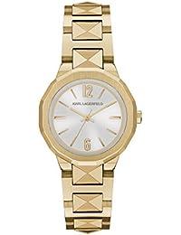 Karl Lagerfeld KL3403 - Reloj con correa de metal, para mujer, color dorado