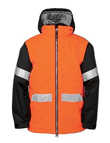 ckies Rescue, Jungen, Safety Orange (686 Snowboard Jacke Jungen)