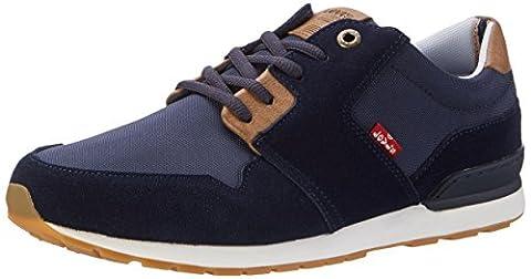 Levi's Herren Ny Runner Ii Sneakers, Blau (Navy Blue), 41 EU