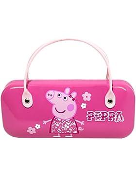 Peppa Pig - Funda de gafas - para niña rosa AS IN PICTURE Talla única
