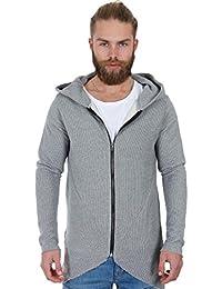 625a29a71048fe Red Bridge Herren Sweatshirt Oversized Pullover Kapuzenpullover Hoodie Grau  S