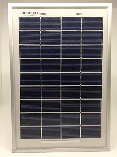9V, 5W Módulo solar con células solares polykristallinen silicio de alta calidad ofrece una calidad de Top a un precio asequible-ideal para cargar de 6V Sistemas parámetros técnicos: Voltaje de circuito abierto: 10.8V ideal Voltaje de funcionam...