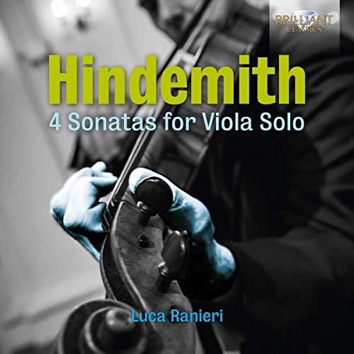Hindemith:Complete Sonatas for Viola Solo