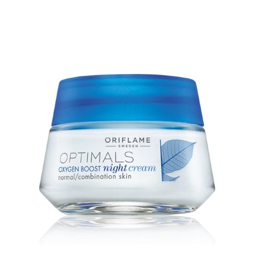 Oriflame Optimals Oxygen Boost Night Cream Normal/Combination Skin 50ml-1.6fl.oz.