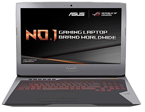ASUS ROG G752VY-GC480T 17.3 inch Gaming Laptop (Intel i7-6700HQ, 16 GB DDR4 RAM, 512 GB PCIE SSD, NVIDIA GTX980M 4G GDDR5 Graphics, G-Sync Windows 10)