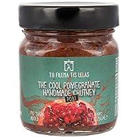 To Filema Tis Lelas Granada Chutney hecho a mano - The Cool Pomegranate 225g, Paquete de 2