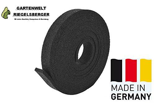Gartenwelt Riegelsberger Padrolle 10x45x6000 mm Gummipad Terrassenpad Gummigranulat