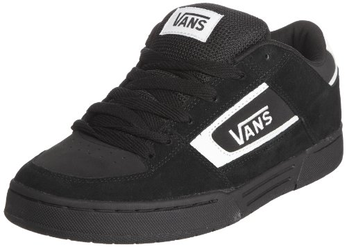 Vans CHURCHILL, Herren Sneakers, Schwarz (Black/White Y28), 47 EU