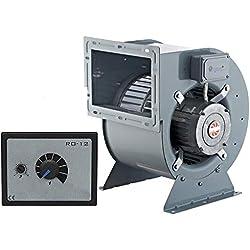 2000m3/h Industrie Radial Centrifuge Ventilateur avec variateur de vitesse 500Watt Extracteur Aspiration Ventilacion Ventilateurs 230V