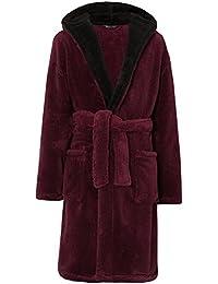 Amazon.co.uk  Red - Dressing Gowns   Kimonos   Nightwear  Clothing 4ed338e3b