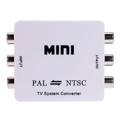 TOOGOO(R) -Nouveau PAL / NTSC / SECAM PAL / NTSC MINI bi-directionnel Convertisseur TV Format