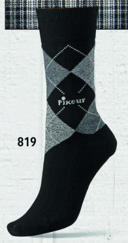 Pikeur AW15 Calze al ginocchio nero/grigio