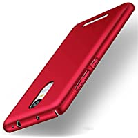 Xiaomi Redmi Note 3 Pro Special Edition case, Heyqie(TM) Thin 360 Full Body Coverage Protective PC Back Phone Cover Case For Xiaomi Redmi Note 3 Pro Prime Special Edition 152 mm - Red