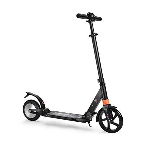 DAHEMA Electrico Patinetes E-Scooter Para Adultos Altura Ajustable Plegable-Aleación De Aluminio,Dura 10 Km,Máxima Velocidad 15KM/H(Negro)