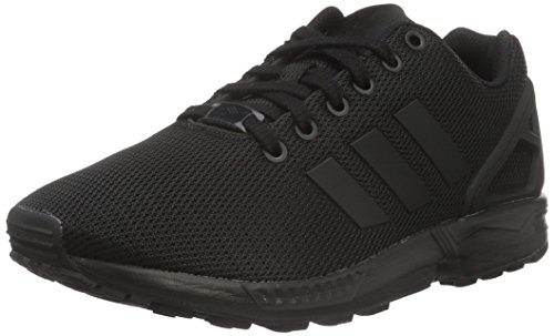 new styles 18181 b93e1 adidas Zx Flux, Unisex Adults  Low-Top Sneakers, Black (Core Black