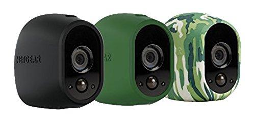 Arlo Silikonbezüge (3er Set, offiziell) camouflage/grün/schwarz, VMA1200