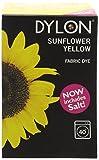 Dylon Tinta per tessuti da usare in lavatrice - giallo girasole 350g incluso sale