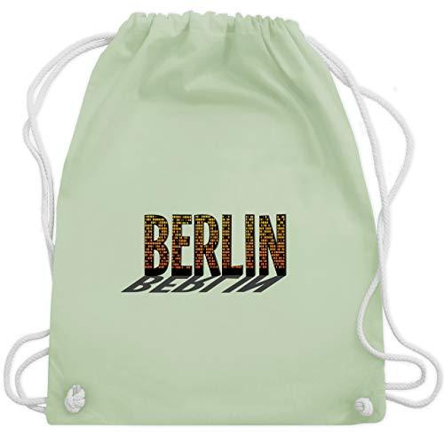 Städte - Berlin - Unisize - Pastell Grün - WM110 - Turnbeutel & Gym Bag