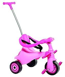 MOLTO- Urban Trike II City Girl Triciclo Infantil 5 en 1, Color Rosa (16218)