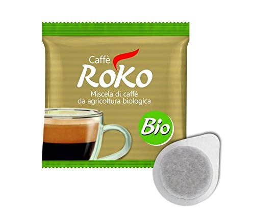 100 Cialde Caffè Roko miscela 100% BIO agricoltura biologica